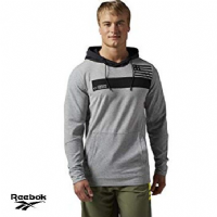 Men's Reebok Crossfit 'RCF Hoody' top (AI1354) x7: £14.95